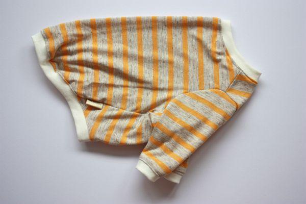 画像1: 【Choice】ネップが素敵なナチュラル長袖Tシャツ 黄