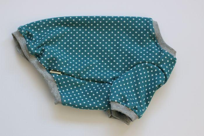 画像1: 【Choice】厚手のミニドットTシャツ ピーコックグリーン
